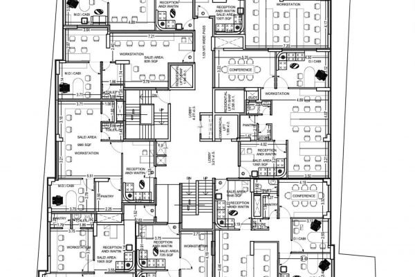 Floor Plan Commercial