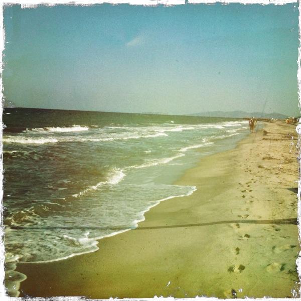 Day Zero Project: 9. Swim in the Sea.  TICK