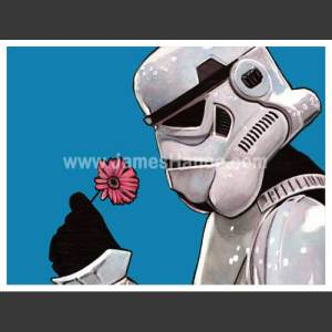 The Flower of The Force Print, £10 from James Hance UK