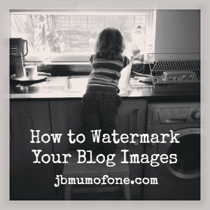 How to Watermark Your Blog Images