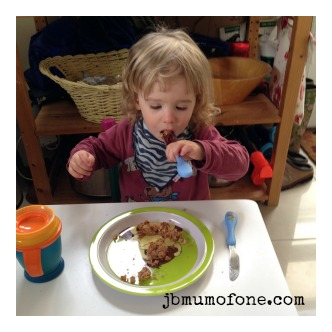 Cooking with your toddler: fishcakes