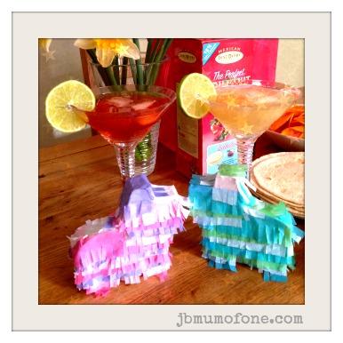Cocktails and mini pinatas