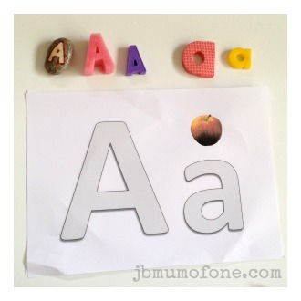 Learning Letter A