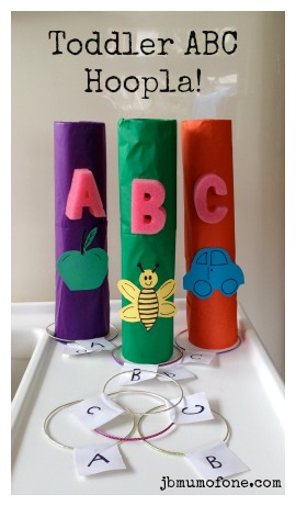 Toddler ABC Hoopla!