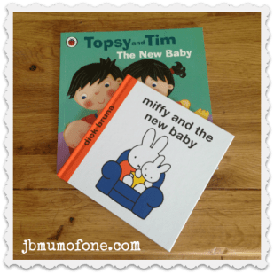 New baby brother/sister books