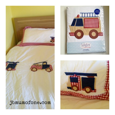 Firetruck Bedding Set from Room to Grow