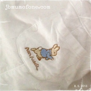 Peter rabbit baby Romper