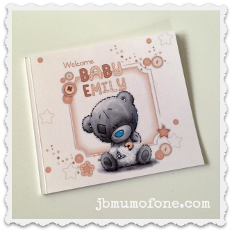 Personalised Penwizard Baby Book