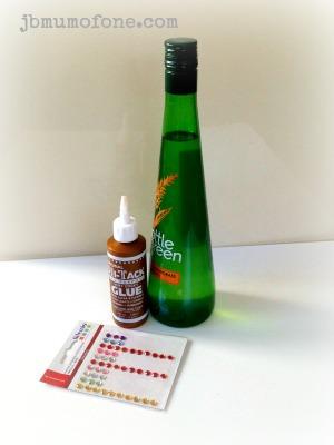 Upcycle Craft: Glass Bottle Vase