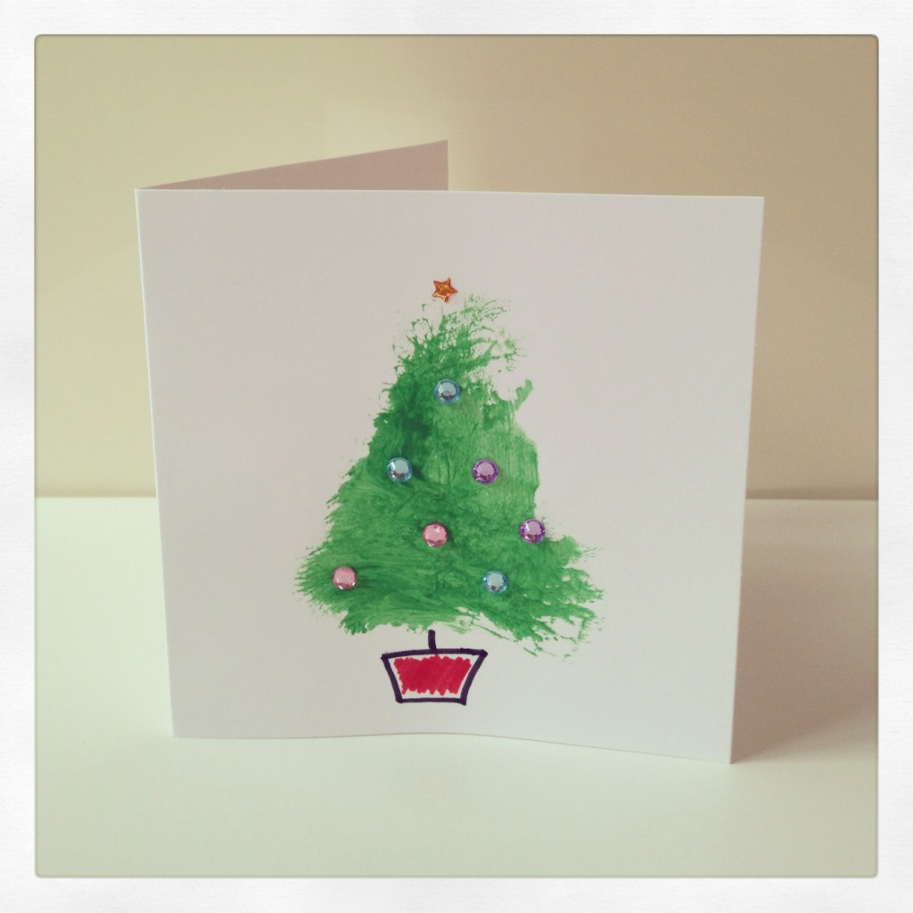 Toddler Craft: Super Simple Christmas Cards