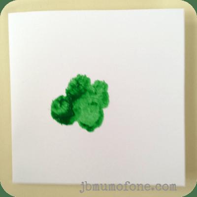 Splodge out clover leaf