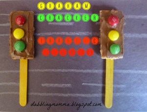 graham cracker traffic lights 14 pm
