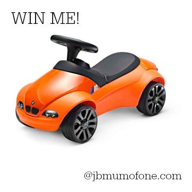 Baby Racer giveaway at jbmumofo