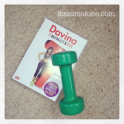 Prize Draw: Win Davina's New 7 Minute Fit and Get Fit with Davina…and Me!