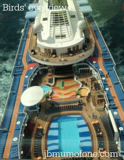 Anthem of the Seas North Star View
