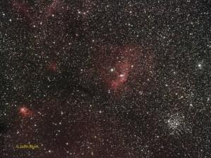 Bubble Nebula, NGC 7635, Caldwell 11, SH2-162