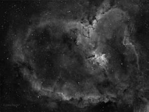 Heart Nebula, IC 1805, SH2-190