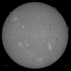 Sun 3-12-2013, Sunspot AR 1694