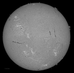 Sun 3-13-2013, Sunspot AR 1694
