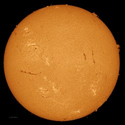 Sun 3-13-2013, Sunspot AR 1694