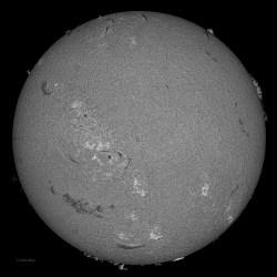 Sun 3-15-2013, Sunspot AR 1694