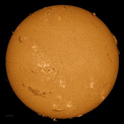 Sun 3-15-2013, Sunspot AR 1694