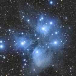M45. The Pleiades, Messier 45