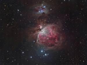 M42, Messier 42, Running Man Nebula, Orion Nebula