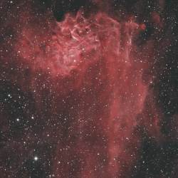 IC 405, Flaming Star Nebula