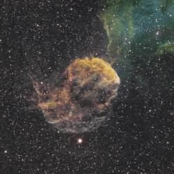 IC 443, Jellyfish Nebula