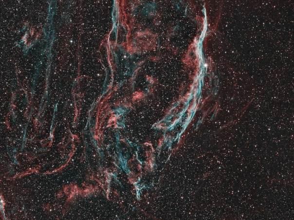 NGC 6960, Witches Broom Nebula, Finger of God Nebula, Filamentary Nebula