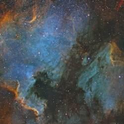 NGC 7000, IC 5070, IC 5067, North America Nebula, Pelican Nebula