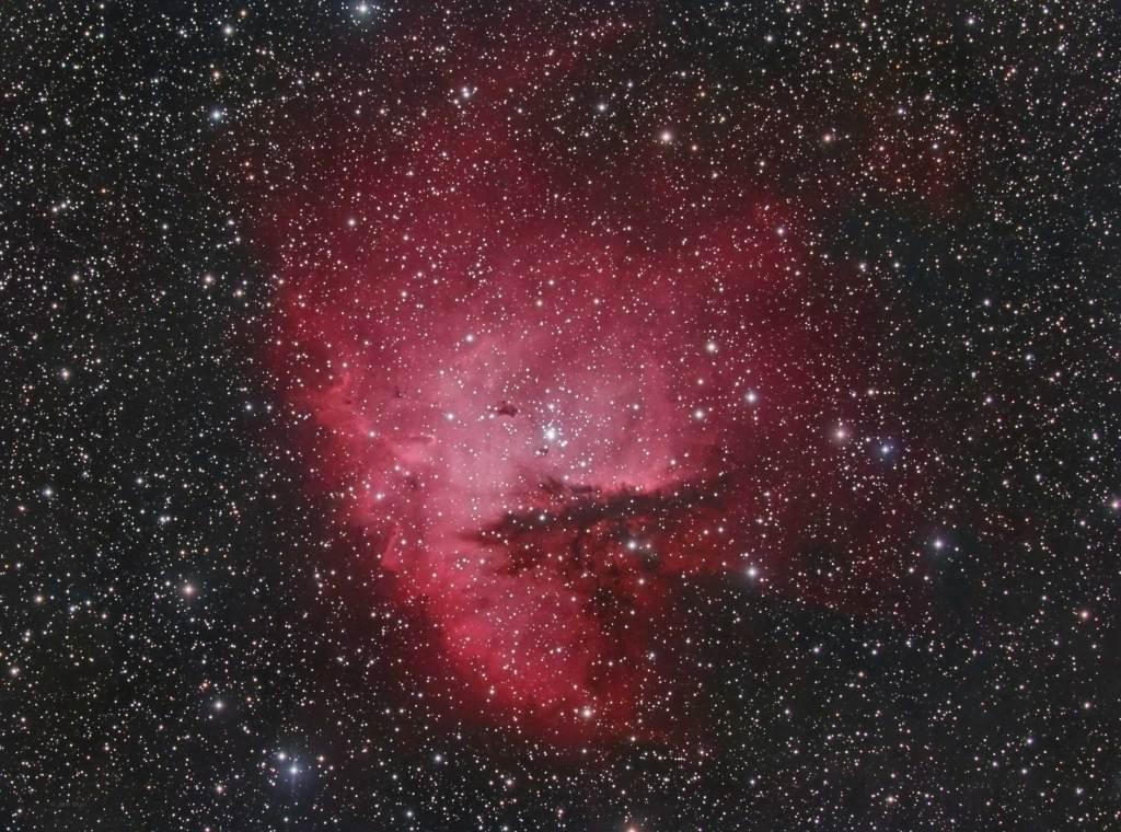 NGC 281, Pacman Nebula, IC 1590