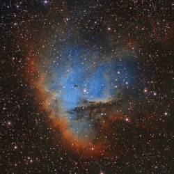 NGC 281, Pacman Nebula, IC 1590,