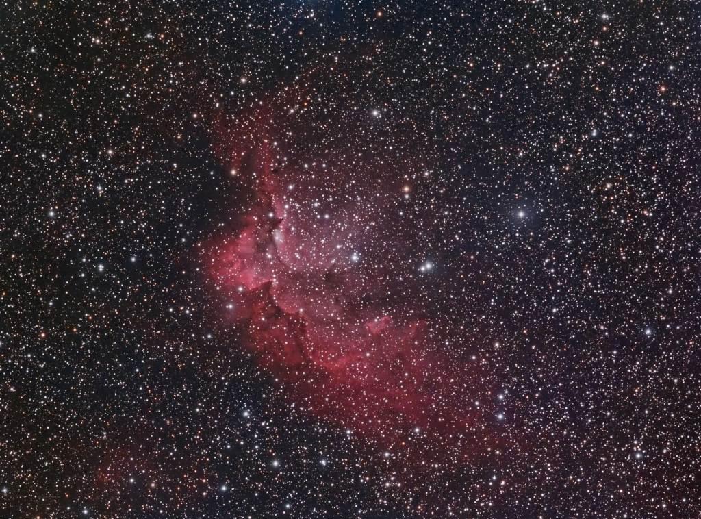NGC 7380, Wizard Nebula, SH2-142