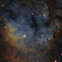 NGC 7822, SH2-171, Berkeley 59, LBN 584, LBN 588
