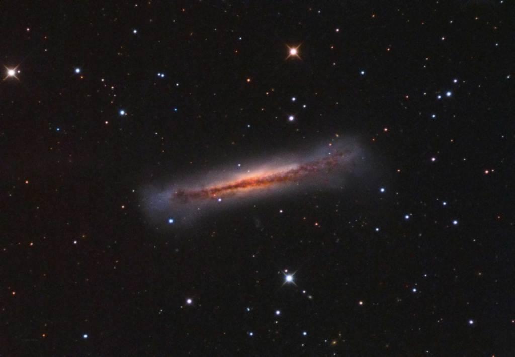 NGC 3628,Hamburger Galaxy,Leo Trio