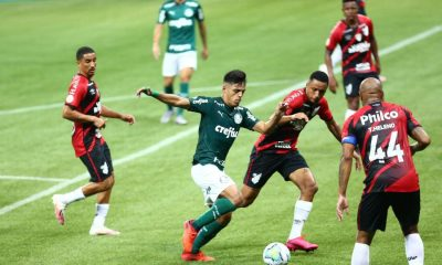 Palmeiras vence o Athletico por 3x0