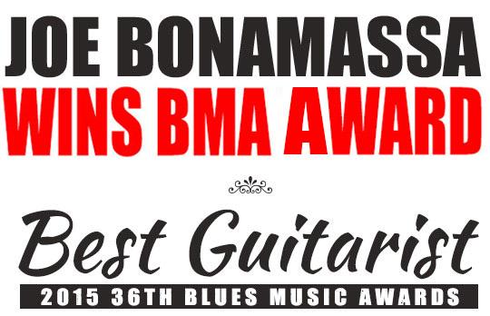 BMA Bonamassa awards title