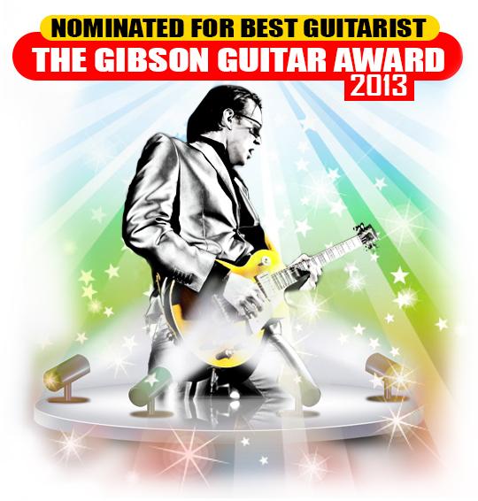 Bonamassa 2013 BMA Nomination