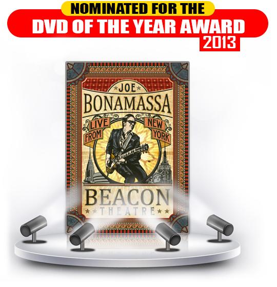 Bonamassa Beacon DVD BMA Nominatioin