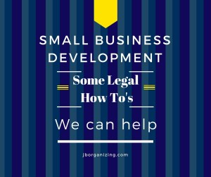 Legal How To's for SBD