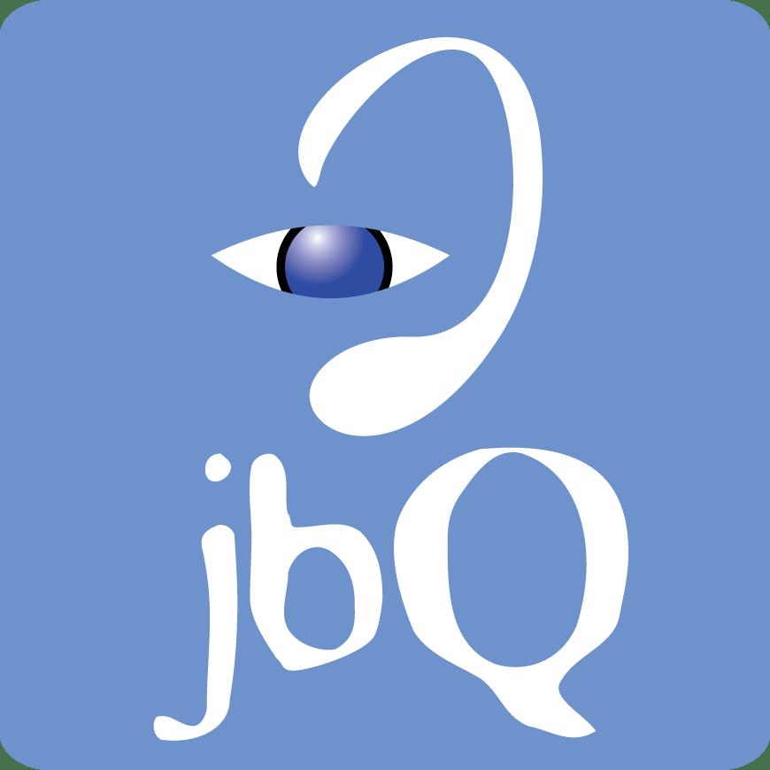 Square Blue jbQ Logo