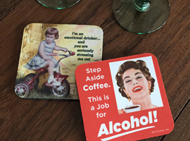 Coasters from High Cotton Gifts