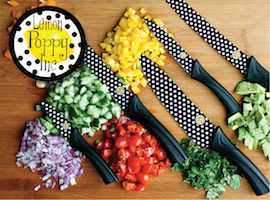 J Brandes carries Lemon Poppy knives