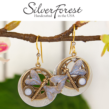 J Brandes carries Silver Forest earrings