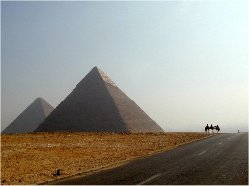 5. Throat chakra: Great Pyramid of Giza and Mt Sinai, Egypt; Mt of Olives, Jerusalem