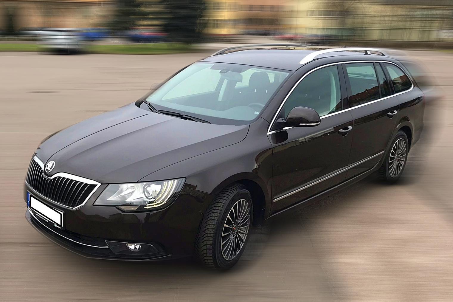 Wypożyczalnia samochodów - Superb