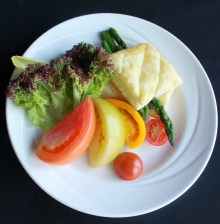 Grilled Asparagus Feuillette