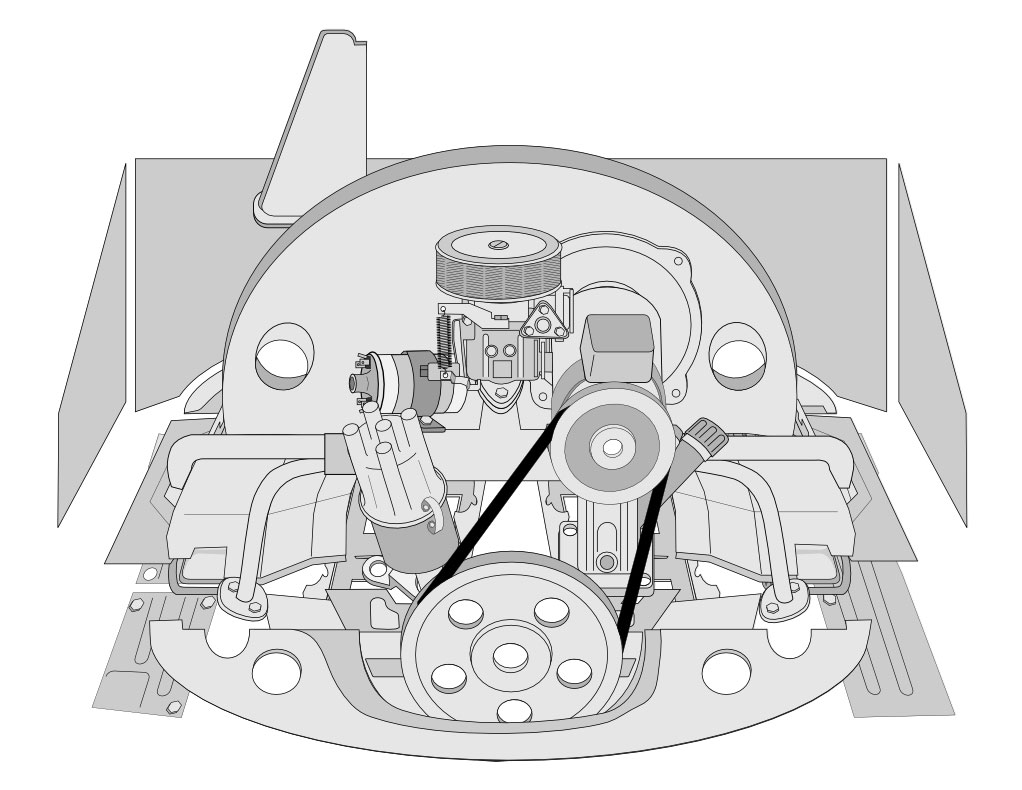 VW Engine Tin & Chrome: VW Parts
